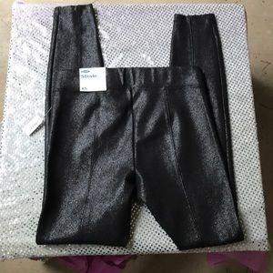Old Navy Pants - Old Navy Black Glittery Stevie Leggings